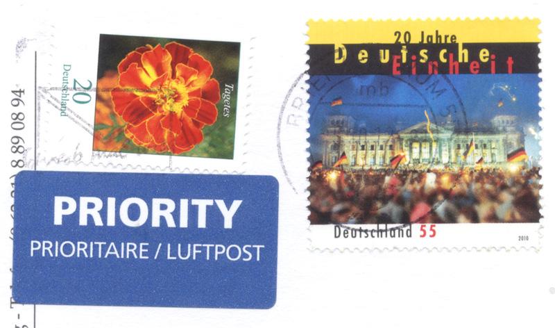 011 forum receive stamp